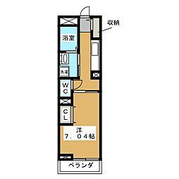 さくらメゾン[2階]の間取り