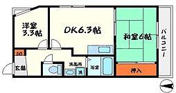 長寿堂恵佳IIBld[4階]の間取り