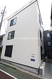 東京都葛飾区東金町3の賃貸アパートの外観