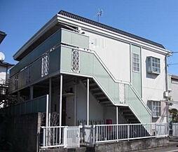 東京都目黒区東が丘1丁目の賃貸アパートの外観