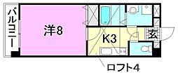 メイプル土居田[502 号室号室]の間取り