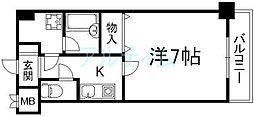 ライオンズマンション京都河原町第3[4階]の間取り