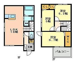 アルコバレーノ5[1階]の間取り
