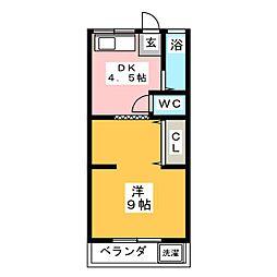 瑞幸荘[2階]の間取り