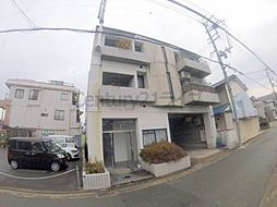 兵庫県川西市見野2丁目の賃貸マンションの外観