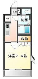 香川県善通寺市下吉田町の賃貸アパートの間取り