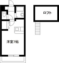 COMFORT熊野[2階]の間取り