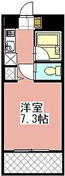 タニックス黒崎[503号室]の間取り