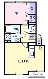 アルファーゾーン[4階]の間取り