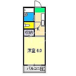 クラシエ6[2階]の間取り