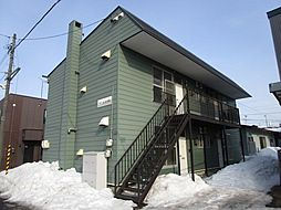 北海道札幌市東区北三十六条東23丁目の賃貸アパートの外観