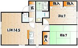 エティンセラー21 A棟[2階]の間取り