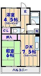 ビラシティ鈴木I[305号室]の間取り