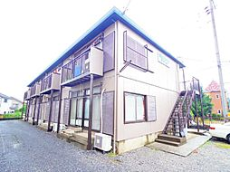 埼玉県川口市大字源左衛門新田の賃貸アパートの外観
