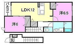 ラティオ・FJ[202 号室号室]の間取り