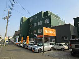 北海道札幌市東区北二十七条東22丁目の賃貸マンションの外観