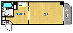 RKAマンション[2階]の間取り