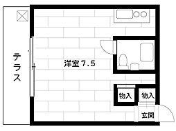 阪神本線 魚崎駅 4階建[405号室]の間取り