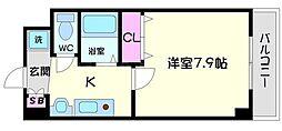 MPRAZA守口東[6階]の間取り