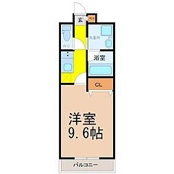 IARIM新瑞橋[2階]の間取り