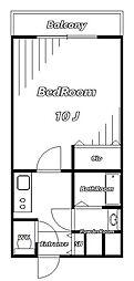 sea side residence[4階]の間取り