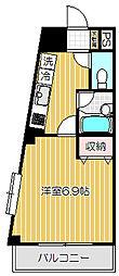 イルヴィアーレ戸越[4階]の間取り