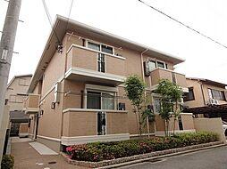 京都府京都市北区紫竹北大門町の賃貸アパートの外観