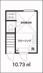 田園調布弐番館[1階]の間取り