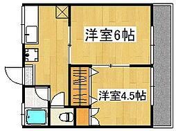 オレンジハイツ[2階]の間取り