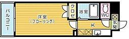 メゾンOM紫川[4階]の間取り
