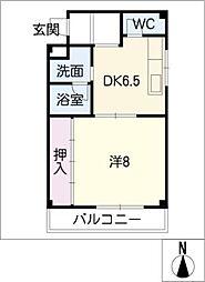 MKハイツ[1階]の間取り
