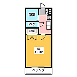 めぞん志茂I[2階]の間取り