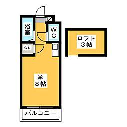 グレイス五条[2階]の間取り