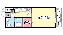 ディナスティ神戸元町通[2階]の間取り