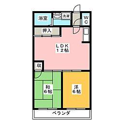 メゾン ファミール[2階]の間取り