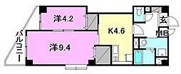 ヴェラヴィータ泉町3[202 号室号室]の間取り
