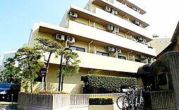 東京都文京区白山5の賃貸マンションの外観