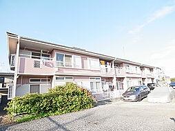 千葉県松戸市下矢切の賃貸アパートの外観
