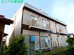 三重県桑名市元赤須賀の賃貸アパートの外観