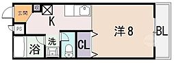 ドムス OGAWA[3階]の間取り