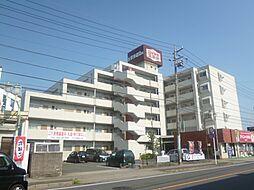 三重県鈴鹿市庄野共進1丁目の賃貸マンションの外観