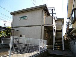 京都府京都市伏見区桃山最上町の賃貸アパートの外観