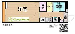 小田急小田原線 鶴川駅 徒歩30分の賃貸アパート 1階1Kの間取り