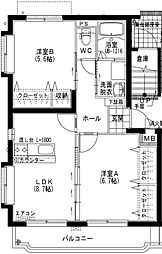 ユーミー小松A[3階]の間取り