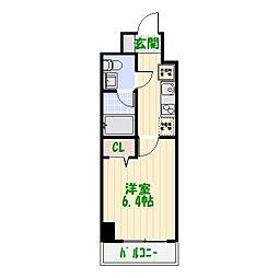 AZEST四つ木[2階]の間取り