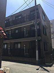 東京都江戸川区南篠崎町2丁目の賃貸アパートの外観