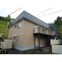 北海道室蘭市緑町の賃貸アパートの外観