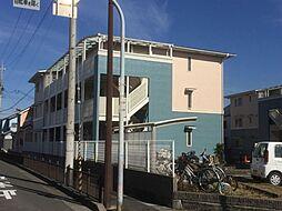 フィルコート東羽倉崎[3階]の外観