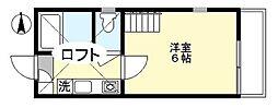 ショコラ5[1階]の間取り