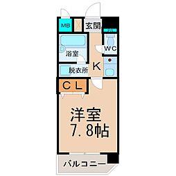 フジハイツIII[403号室]の間取り